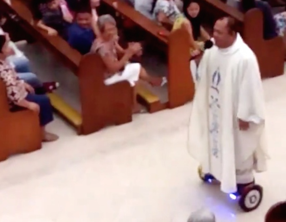 Priest Hoverboard