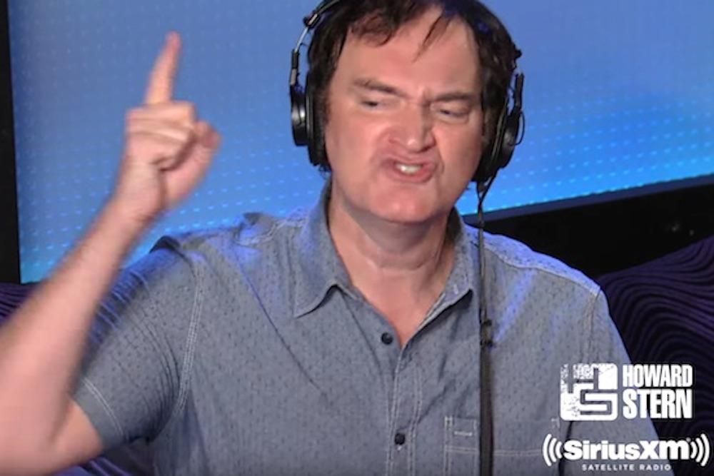 Quentin Tarantino Mad