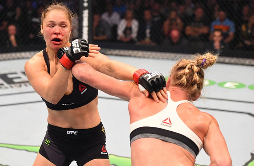 Ronda Rousey Punched Holly Holm