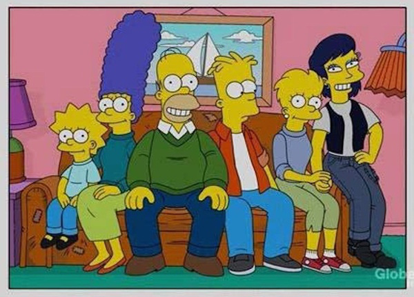 family values and gay life in the simpsons