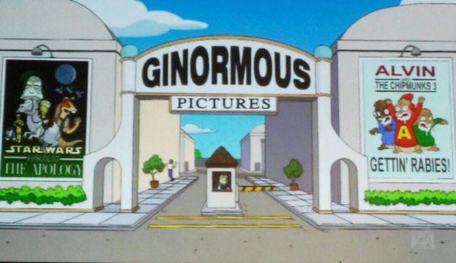 Simpsons Force Awakens