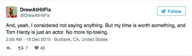 Tom Hardy Twitter 9