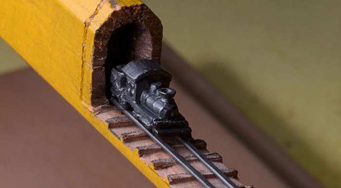 Train Carving