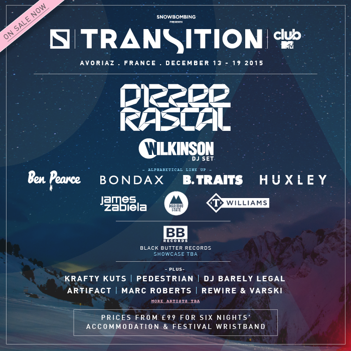 Transition Snow - Lineup