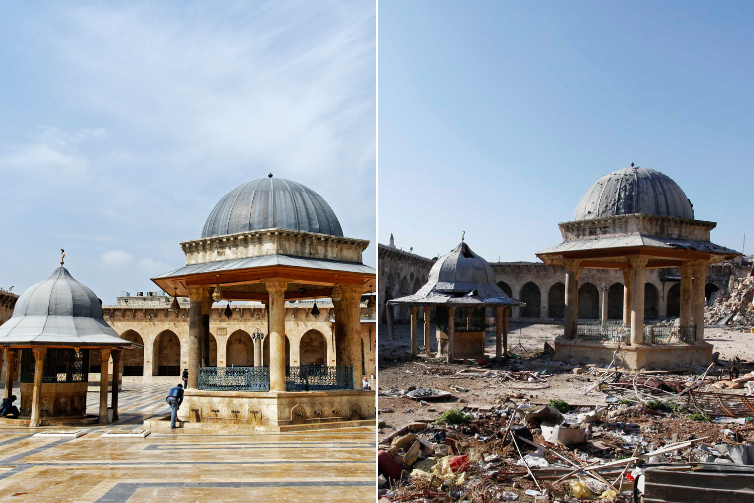 Destroyed Mosque