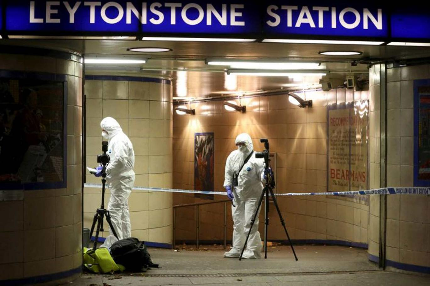 Forensics at Leytonstone