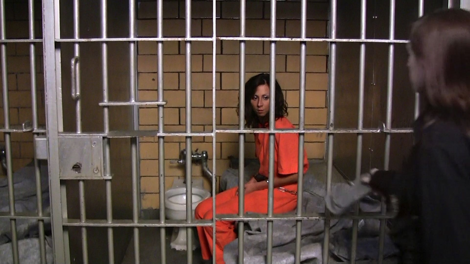 Woman In Jail