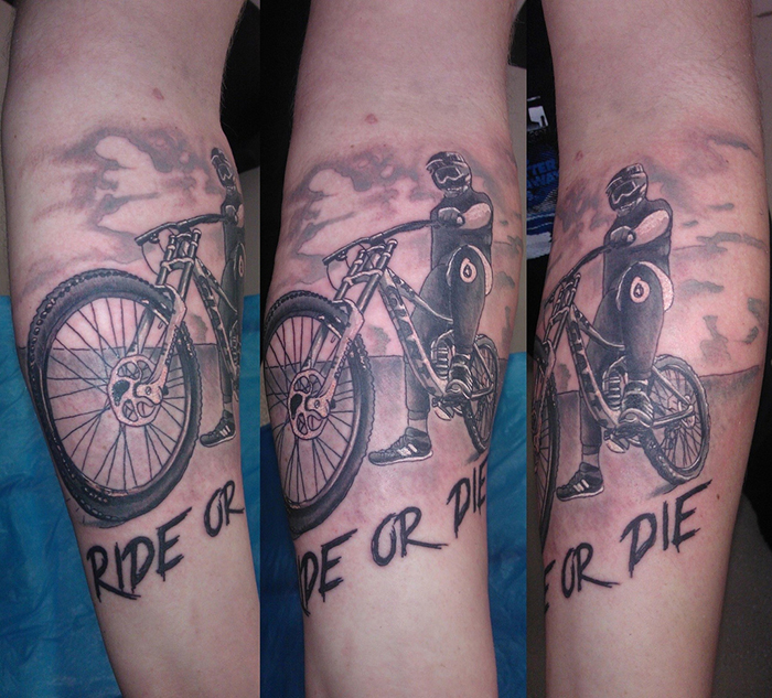 Ride Or Die Tattoos For Girls