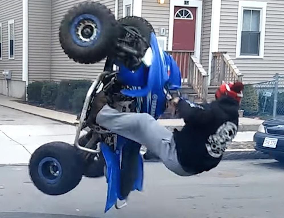 ATV Quad Bike Instant Karma