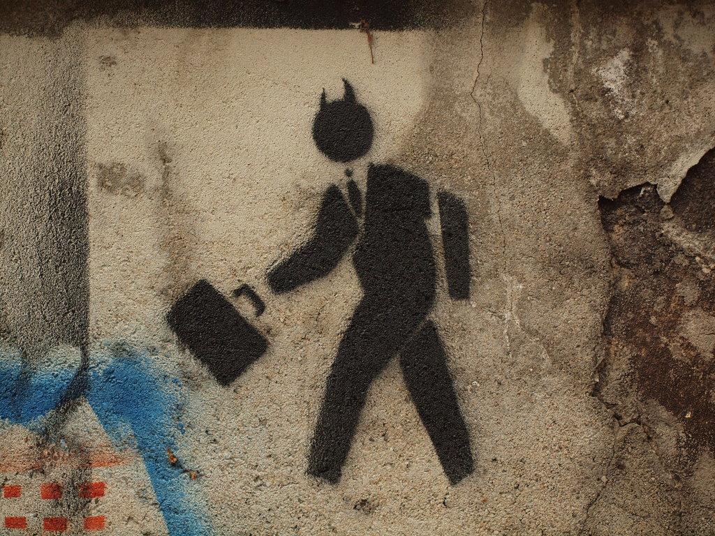 Advertising Tricks - Evil Business Man