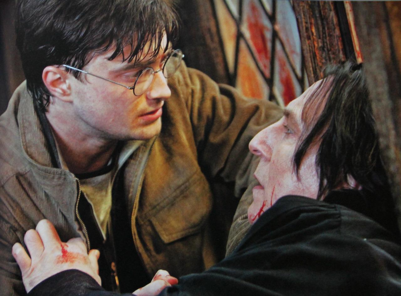 Alan Rickman Daniel Radcliffe