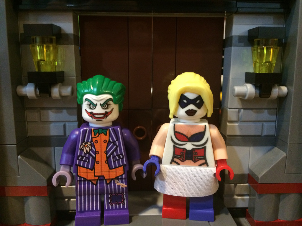 Arkham Asylum Lego