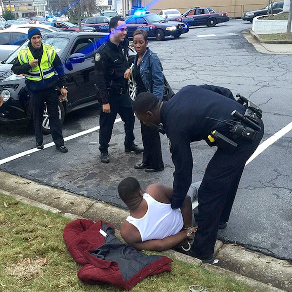 Black Youngsta Arrested Full Pic
