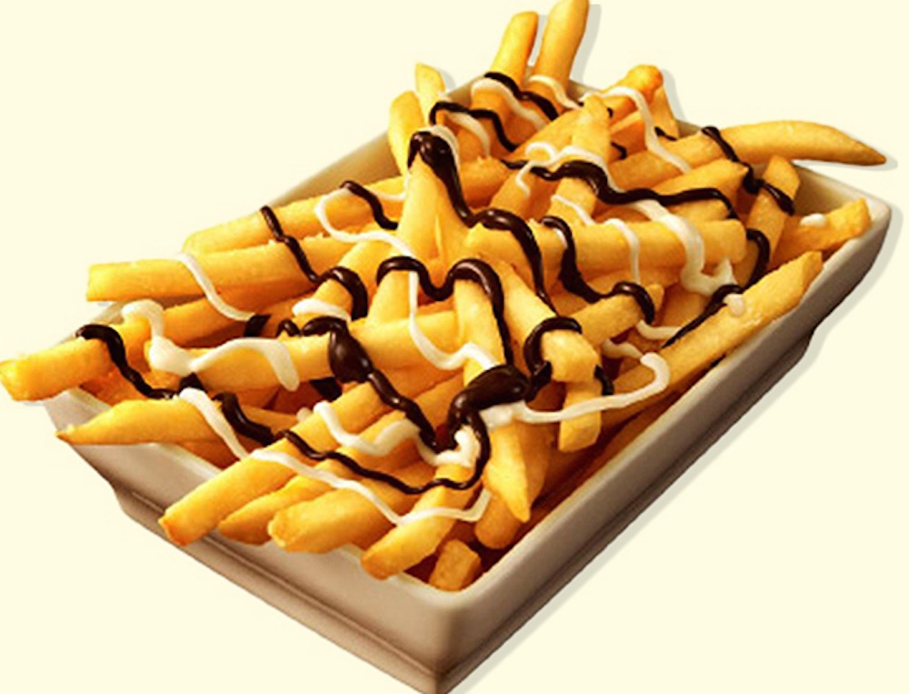 Chocolate Covered Fries