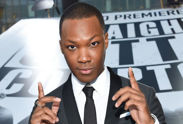 Mandatory Credit: Photo by Buckner/Variety/REX/Shutterstock (4937681bc) Corey Hawkins 'Straight Outta Compton' film premiere, Los Angeles, America - 10 Aug 2015