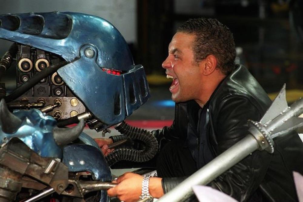Craig Charles Robot Wars