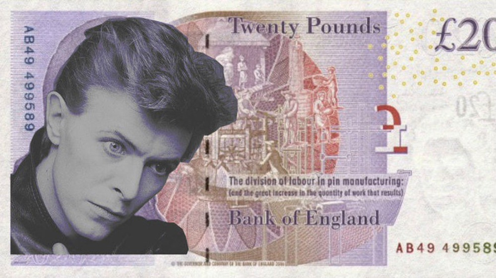 David Bowie £20 Note