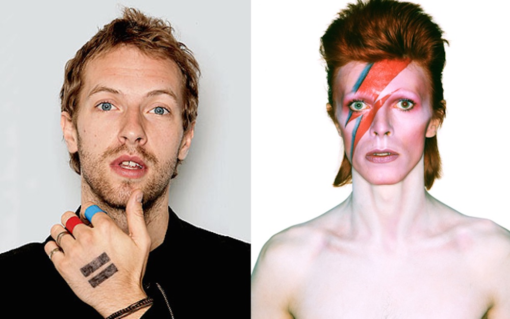 David Bowie Coldplay