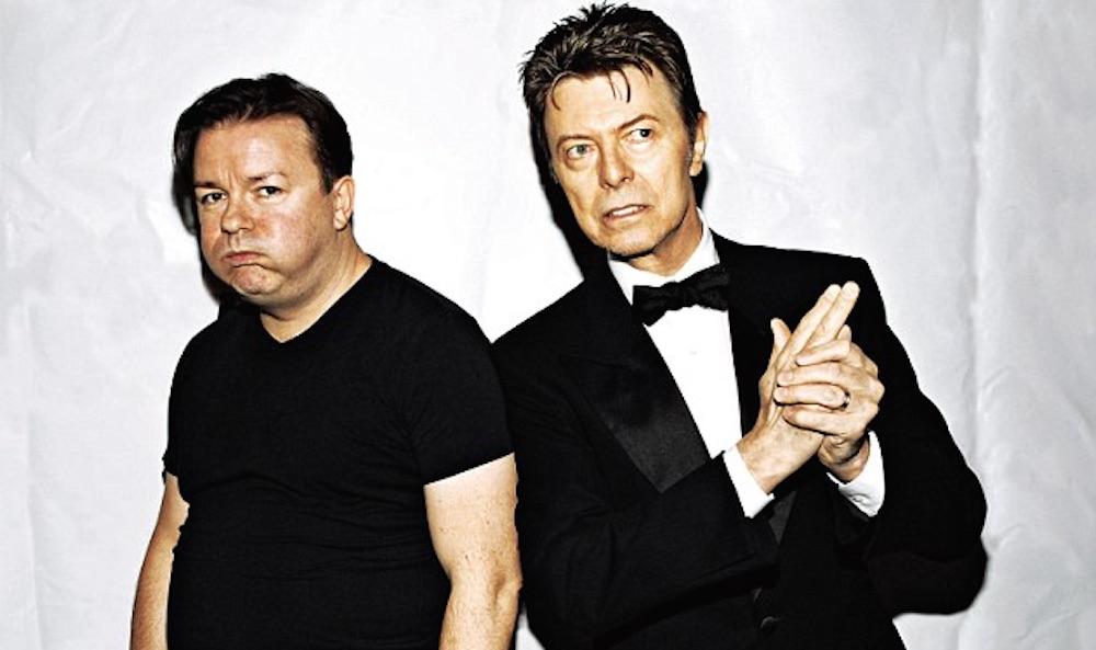 David Bowie Ricky Gervais