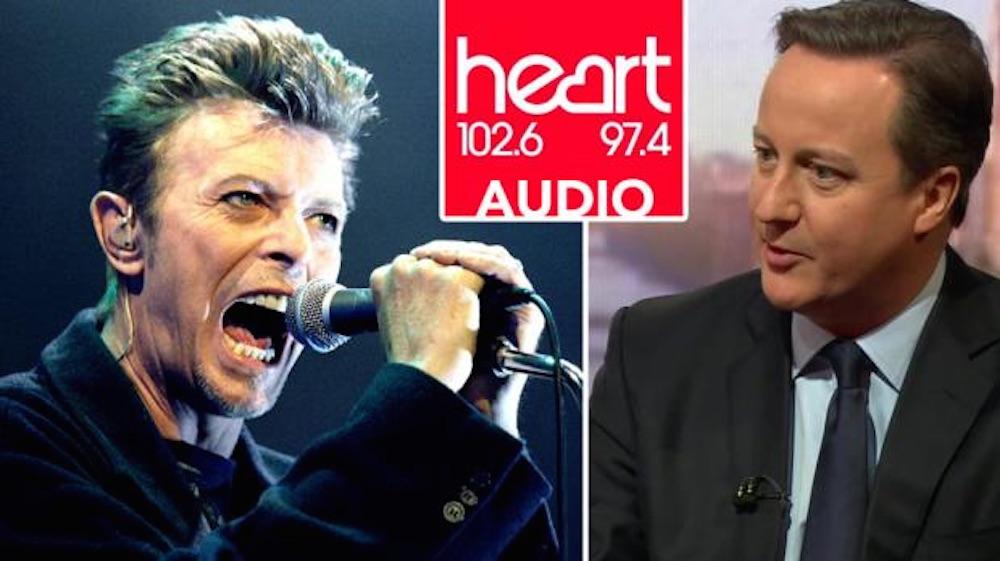 David Cameron David Bowie