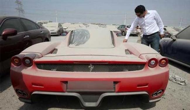Dubai Cars Abandoned