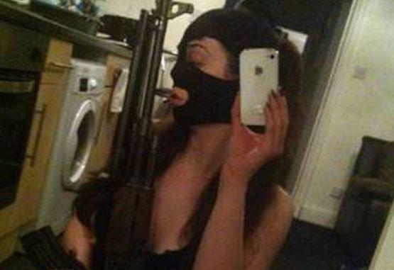 Gun Selfie