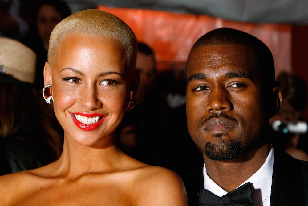 Kanye West Amber Rose