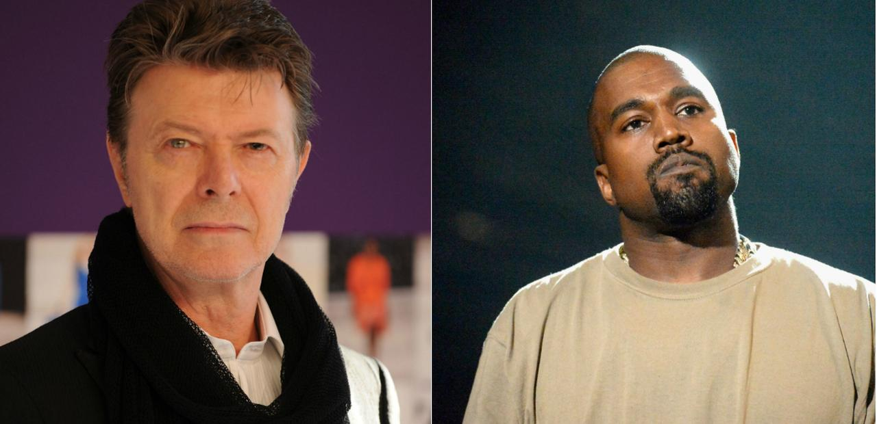 Kanye and Bowie