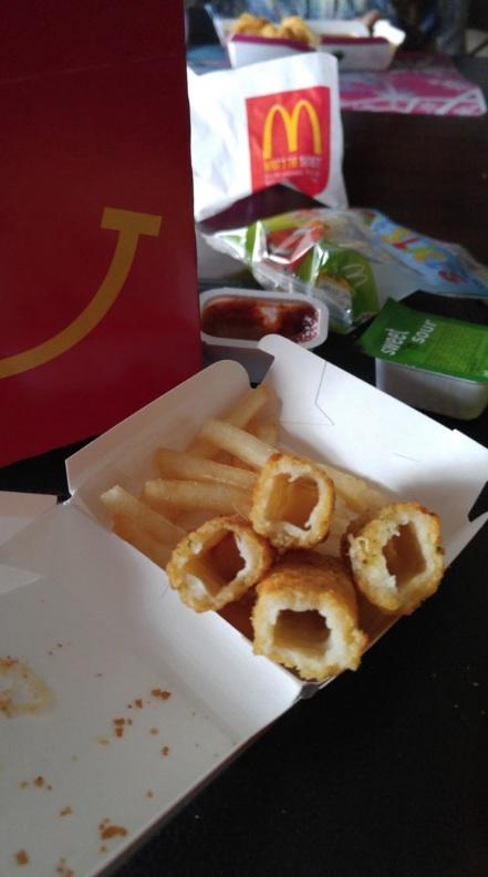 McDonald's Mozzarrella Sticks 8