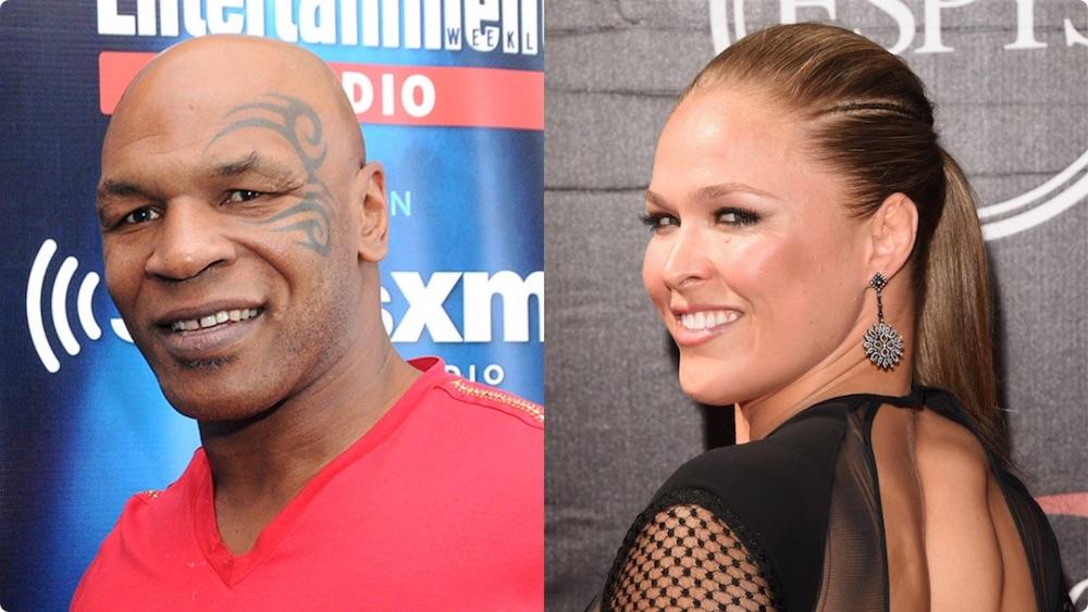 Mike Tyson Ronda Rousey