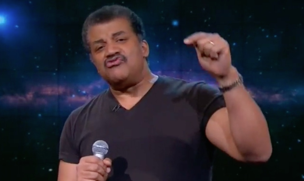 Neil De Grasse Tyson Disses B.o.B. Nightly Show