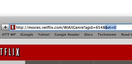 NetFlix URL
