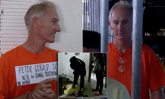 Peter Scully - Pedophile Similing and Capture