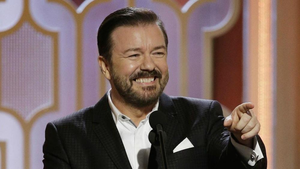 Ricky Gervais Matt Damon