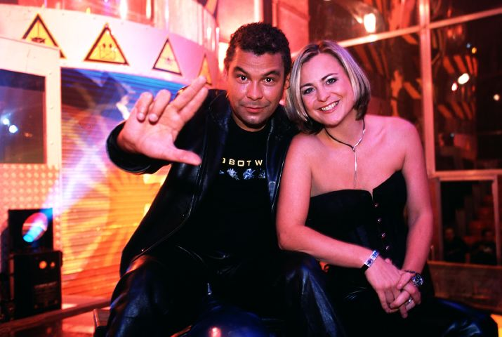 Television programme :  ROBOT WARS  presented by Craig Charles a