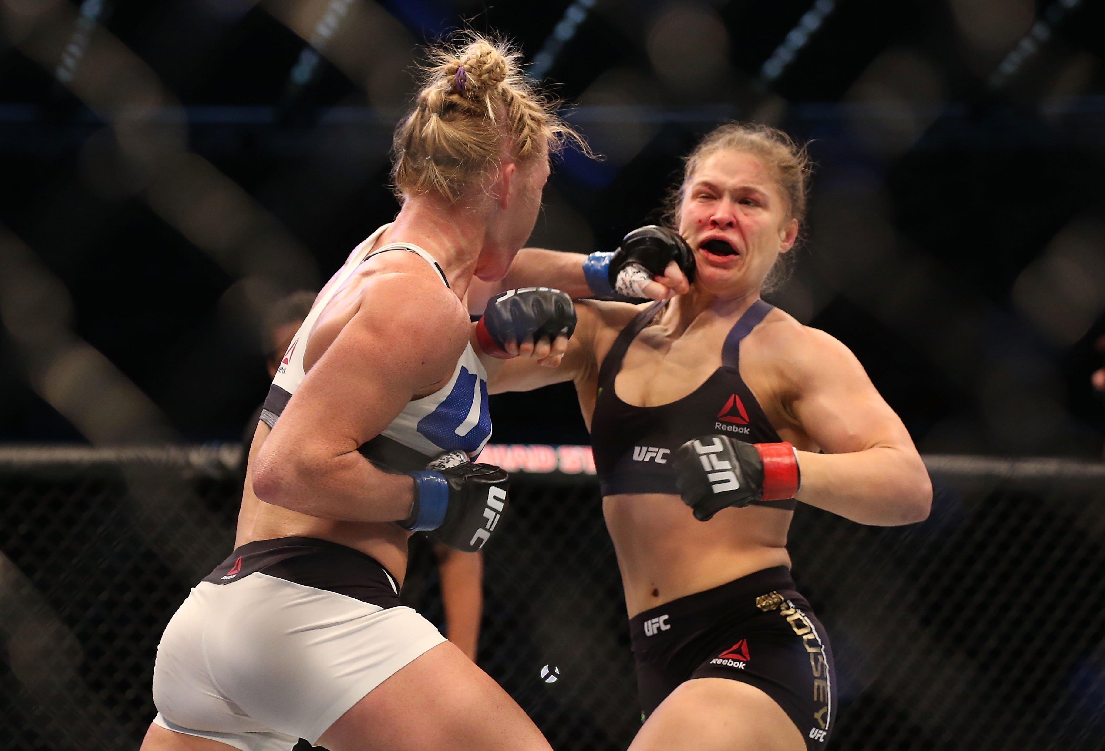 Image: UFC 193: Rousey v Holm