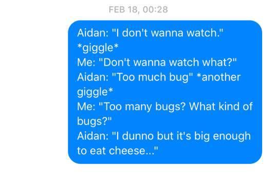 Sleep Talking Texts 10