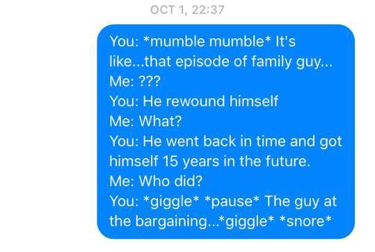 Sleep Talking Texts 4