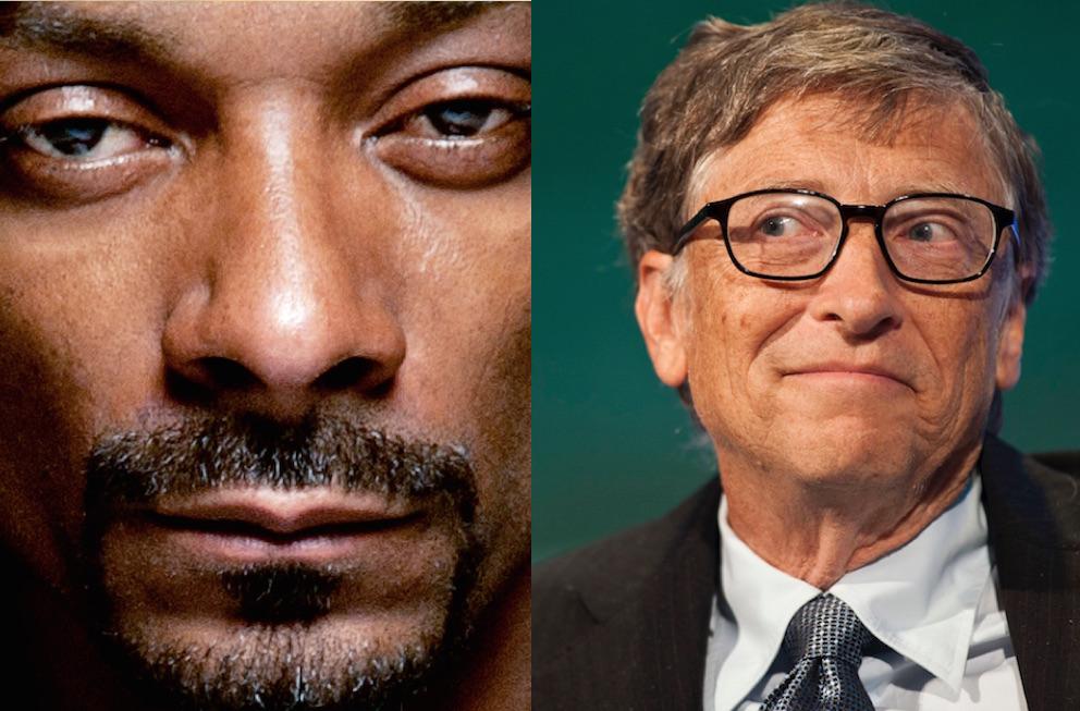 Snoop Dogg Bill Gates
