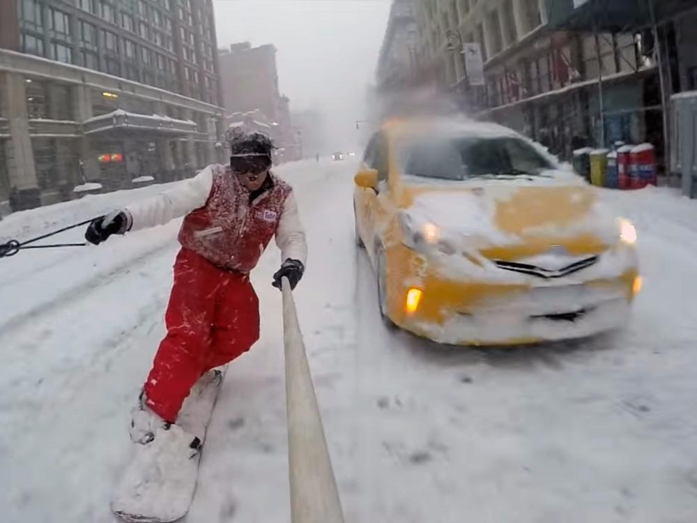 Snowboarding NYC