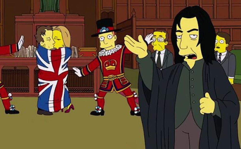 The Simpsons Alan Rickman