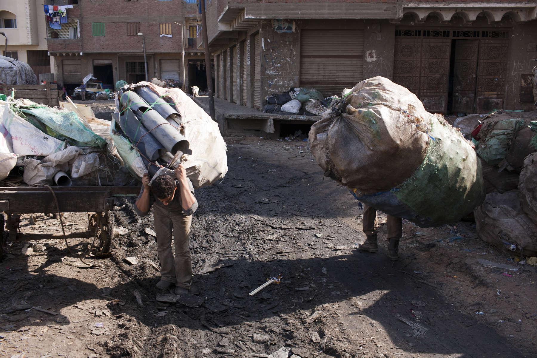 Zabaleen of Moqqatam - A Normal Day