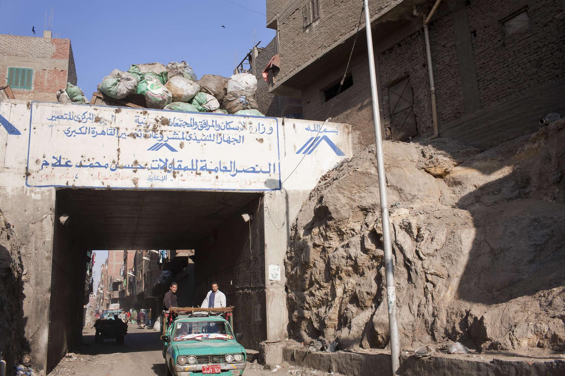 Zabaleen of Moqqatam - Crap Bridge