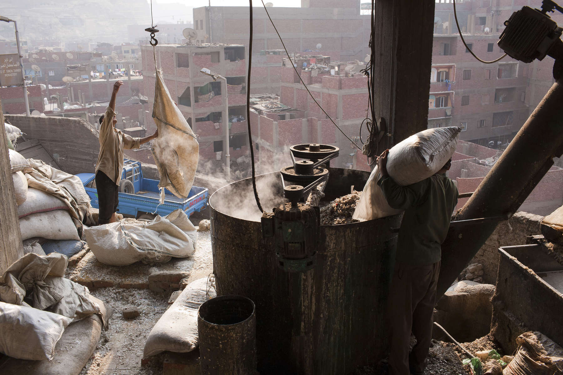 Zabaleen of Moqqatam - Dust