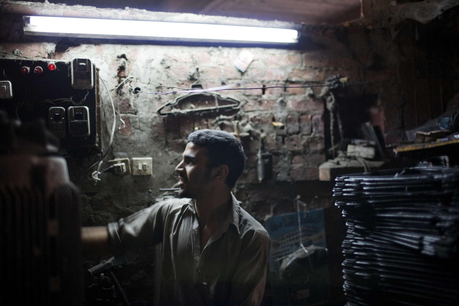 Zabaleen of Moqqatam - Metal Recycling