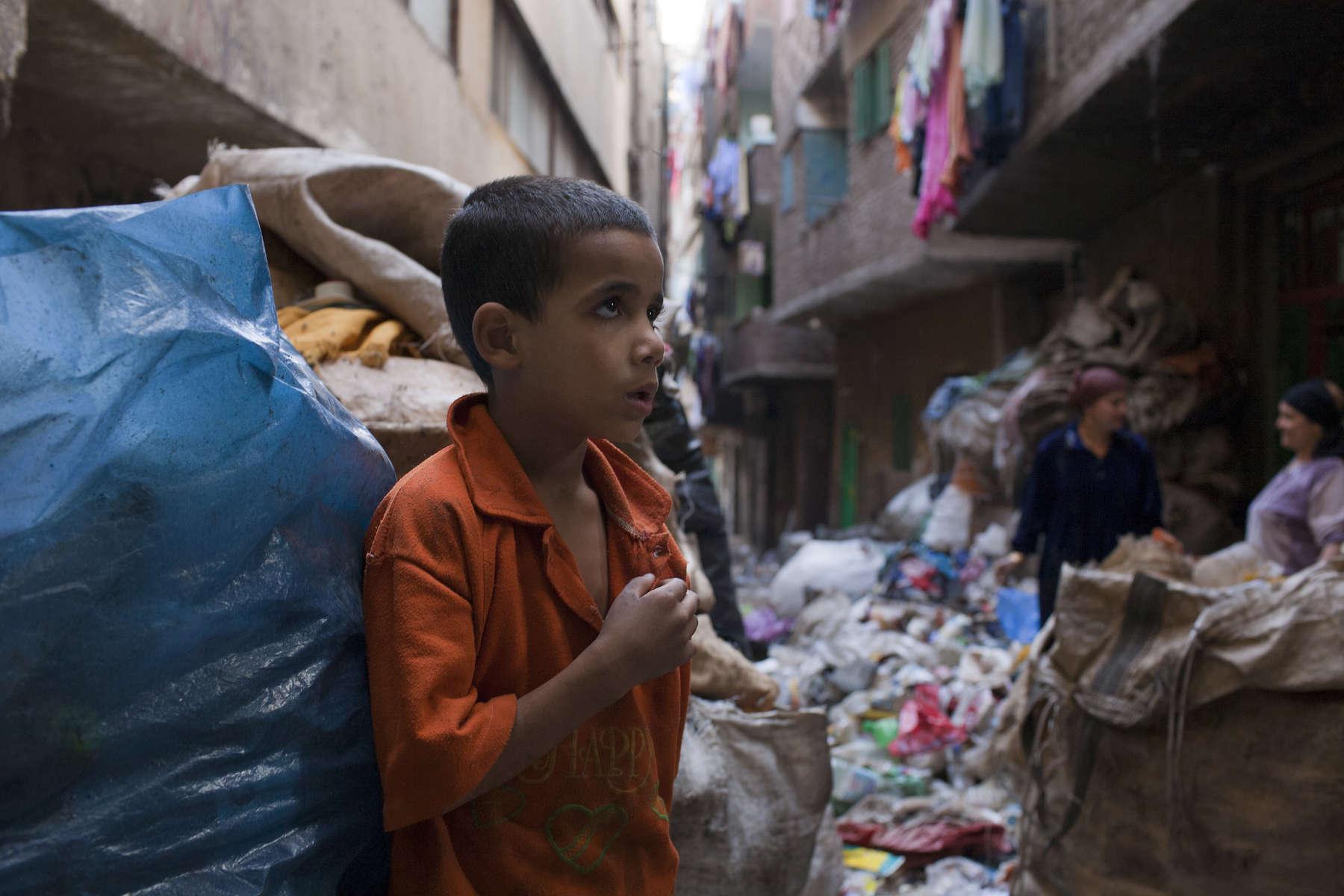 Zabaleen of Moqqatam - Street Kid