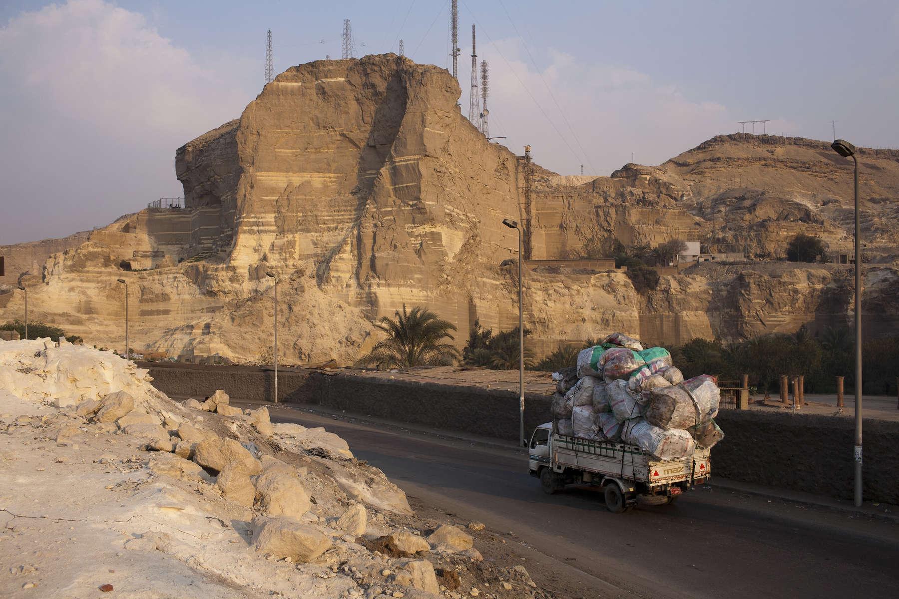 Zabaleen of Moqqatam - Truck