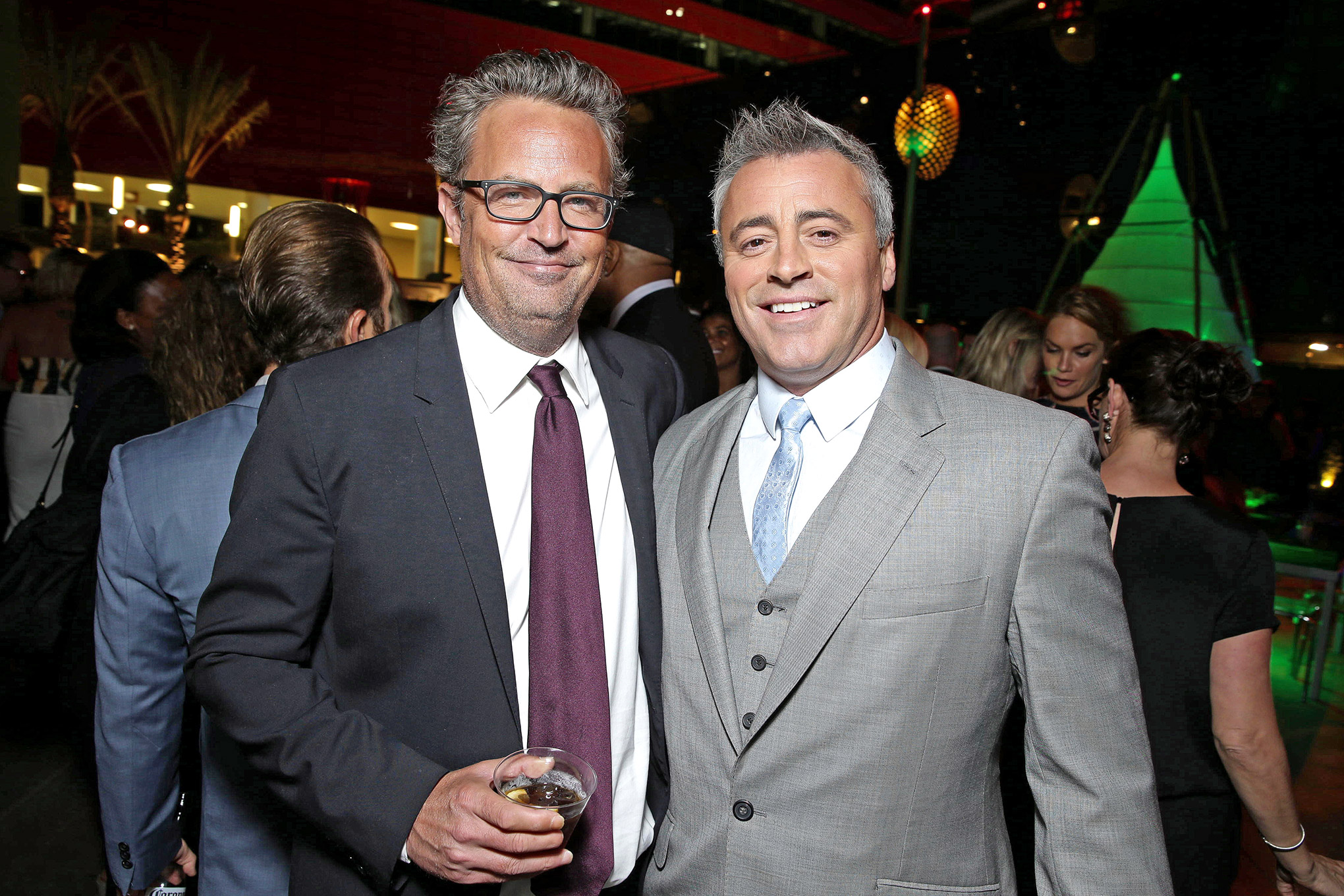 Matthew Perry and Matt Le Blanc