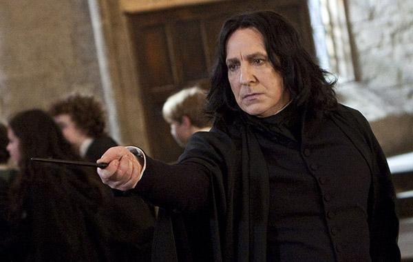 ALAN Rickman as Professor Severus Snape in Warner Bros. PicturesÕ fantasy adventure movie ÒHARRY POTTER AND THE DEATHLY HALLOWS Ð PART 2,Ó a Warner Bros. Pictures release. Ê