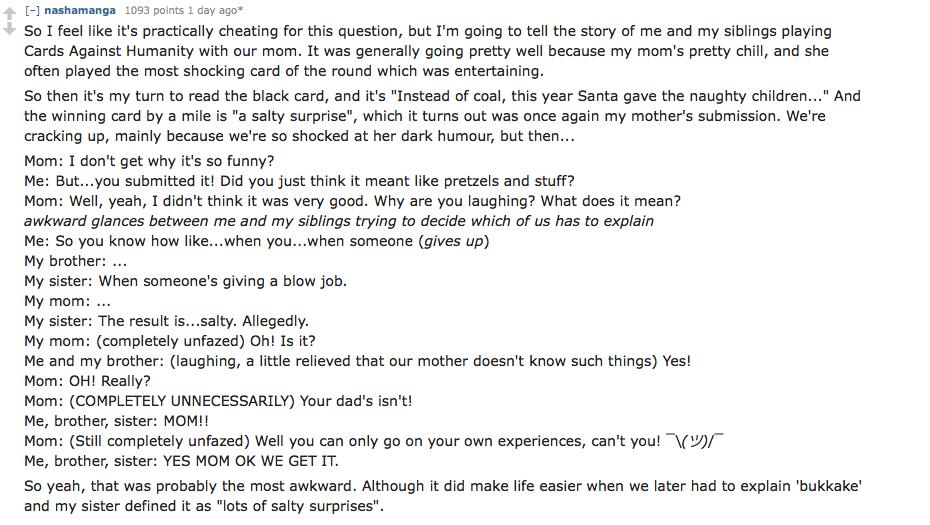 Awkard Conversations Parents 13